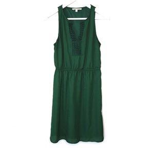 41 Hawthorn green sleeveless Bogota v-neck dress